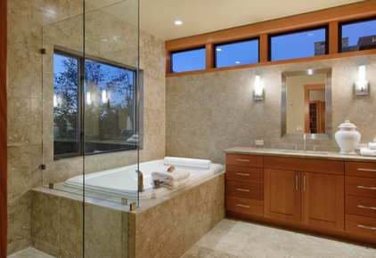 Contemporary Bathroom by Scott Allen Architecture