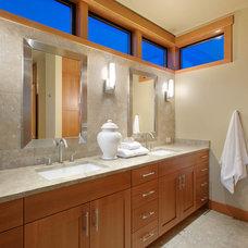 Contemporary Bathroom by Scott Allen Architecture