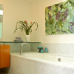 contemporary bathroom by Shannon Malone