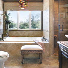 Contemporary Bathroom by Sheila Rich Interiors, LLC