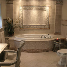 Traditional Bathroom by Short Hills Marble & Tile