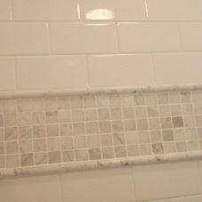 Traditional Bathroom master bathroom shower