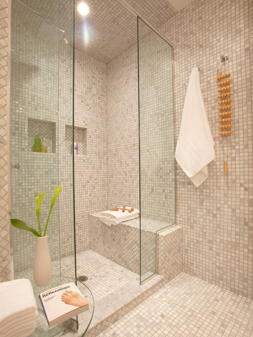 Master bathroom shower houzz for Houzz com bathroom tile