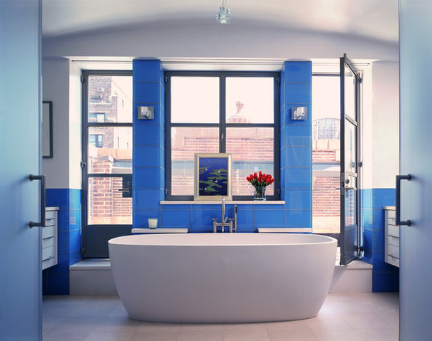 Contemporary Bathroom by Siris/Coombs Architects