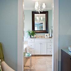 Eclectic Bathroom by Abbe Fenimore Studio Ten 25