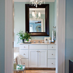 eclectic bathroom by Abbe Fenimore Studio Ten 25