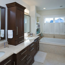 contemporary bathroom by Sroka Design, Inc.