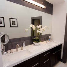 Contemporary Bathroom by Stonebrook Design Build