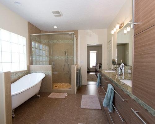 Moderne badezimmer mit korkboden ideen f r die - Korkboden badezimmer ...