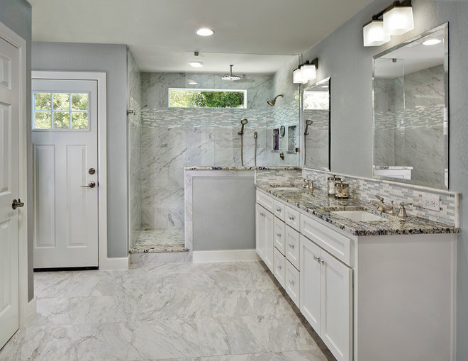 Transitional Bathroom by BRY-JO Roofing and Remodeling