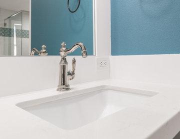 Master Bathroom Suite Renovation - His & Hers Sinks