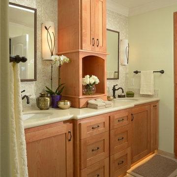 Master Bathroom Suite, Saratoga, CA