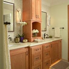 Traditional Bathroom by Fiorito Interior Design