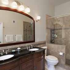 Contemporary Bathroom by Sun Design Remodeling Specialists, Inc.