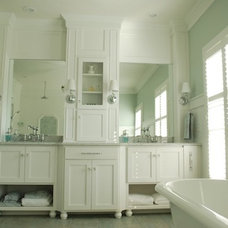 Traditional Bathroom by Sweet Chaos Home