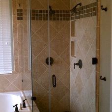 Traditional Bathroom by Tackett Custom Homes