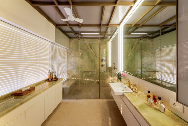 Contemporary Bathroom by TAO Architecture Pvt. Ltd.
