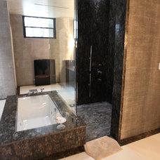 Modern Bathroom by The Granite Shop