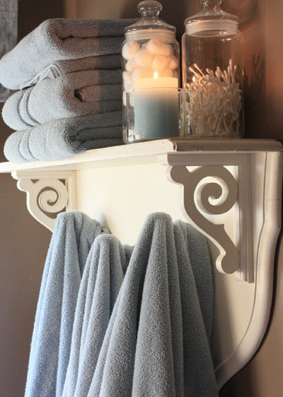 American Traditional Bathroom by The Yellow Cape Cod