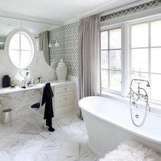 Traditional Bathroom by Tiffany Eastman Interiors, LLC