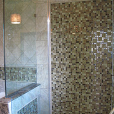 Contemporary Bathroom by tile & style