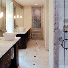 Contemporary Bathroom by Halo Stone Designs