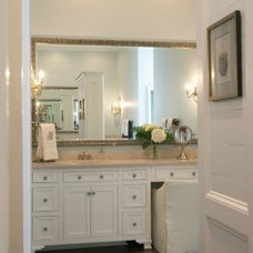 Traditional Bathroom by Tracery Interiors