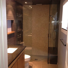 Contemporary Bathroom by SRP Contracting, Inc.