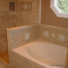 Traditional Bathroom by Custom Surface Solutions