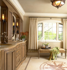 traditional bathroom by Twist Interior Design