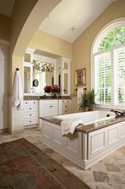 Traditional Bathroom by Twist Interior Design