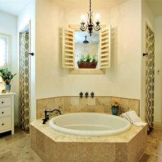 Eclectic Bathroom by Van Wicklen Design