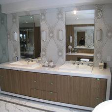 Bathroom by David Nosella Interior Design