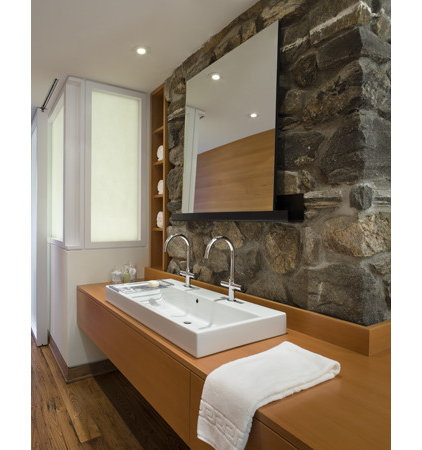 contemporary bathroom by James Cleary Architecture