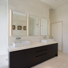 modern bathroom Master Bathroom Vanity