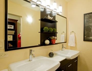 Master Bathroom Vanity Room