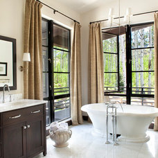 Contemporary Bathroom by Vertical Arts Architecture
