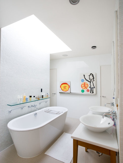 Bathroom Glass Shelf Houzz
