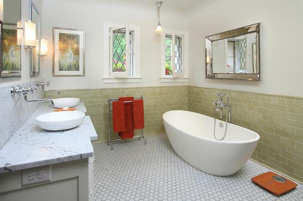 Traditional Bathroom by w.b. builders