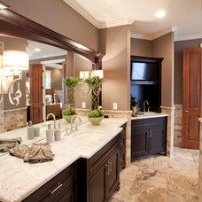 Traditional Bathroom by Walker Homes LTD