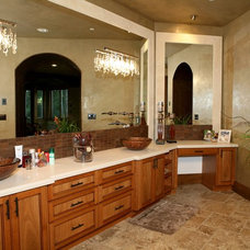 Traditional Bathroom by WESTERN CABINETS