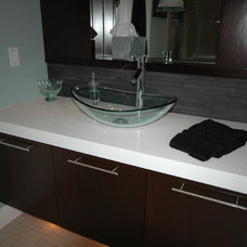 Modern Bathroom by Vicki Balzer