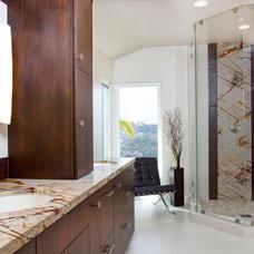 Modern Bathroom by Deborah Gordon Designs
