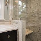 Cool Gray Contemporary Bathroom Atlanta By Change