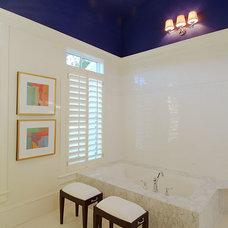 Farmhouse Bathroom by Hyrum McKay Bates Design, Inc.