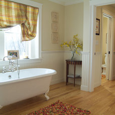 Traditional Bathroom by K.Marshall Design Inc.