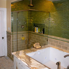Asian Bathroom by Castle Rock Construction