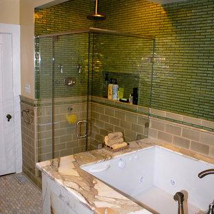 Master Bathroom with Japanese soaking Tub