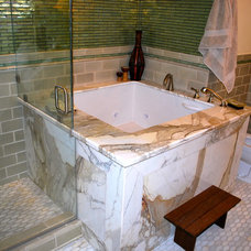 Asian Bathroom by Castle Rock Construction