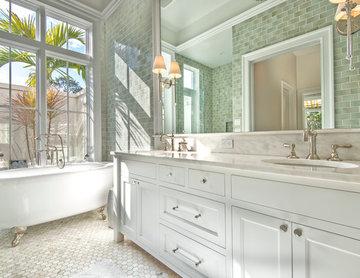 Master Bathroom- with outdoor garden shower